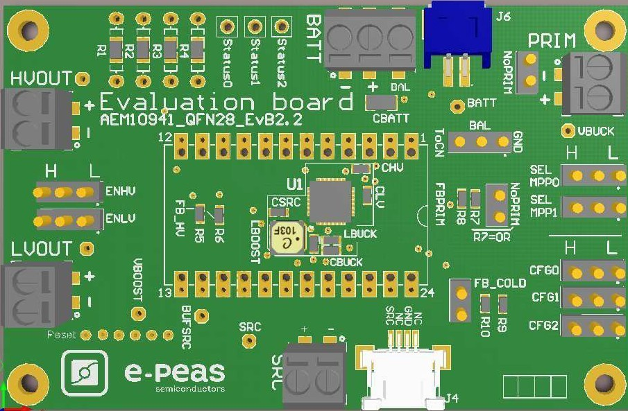 Evaluation Board for the AEM10941