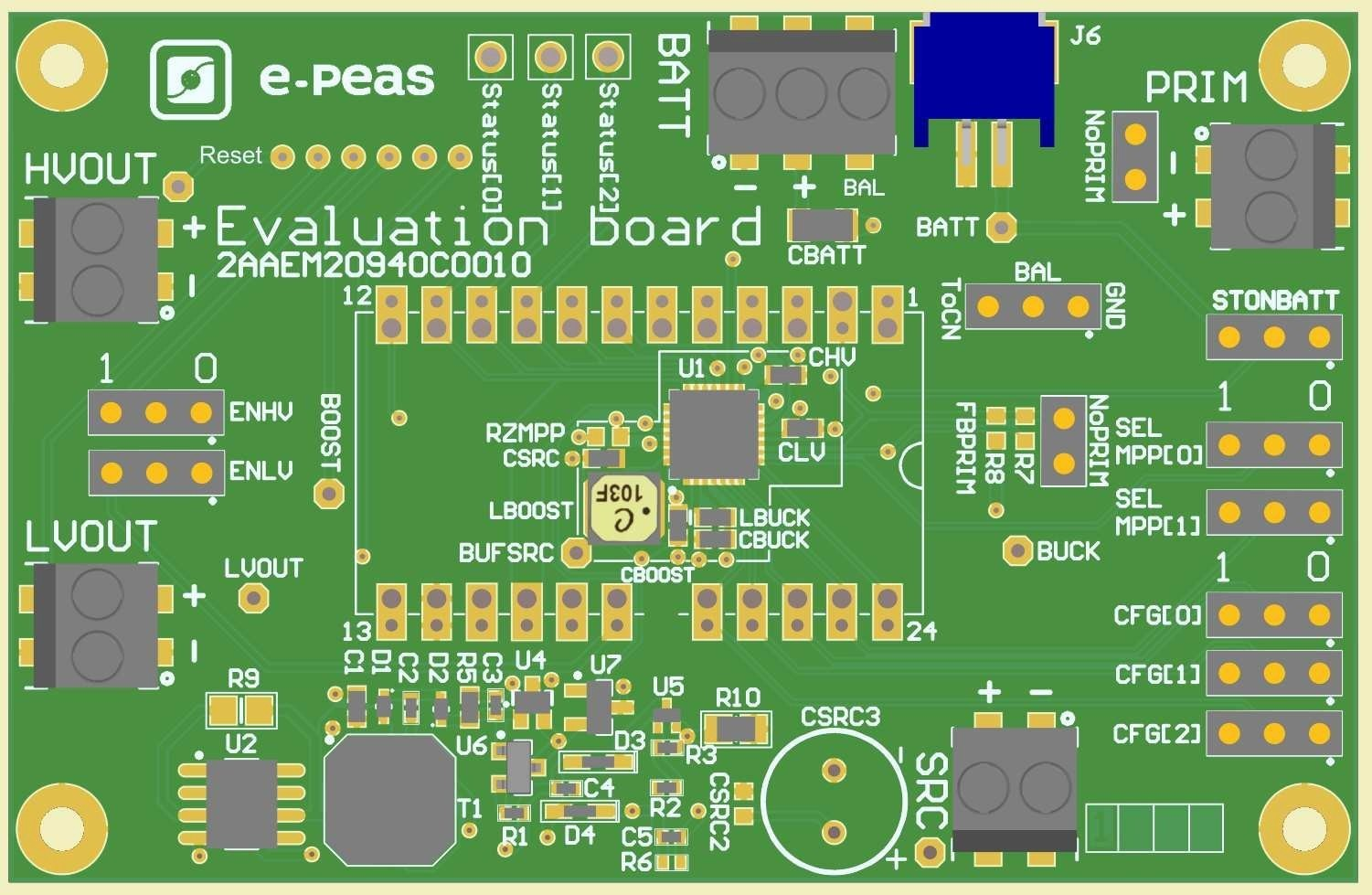 Evaluation Board for the AEM20940